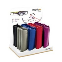 7508 Set of Ready reader with Interchangeable temples & display 25pcs